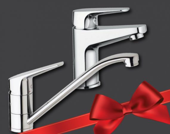 Mixer tap special from Tasm Plumbing