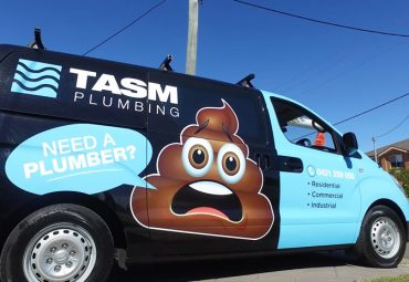 local plumber shellharbour tasm plumbing van